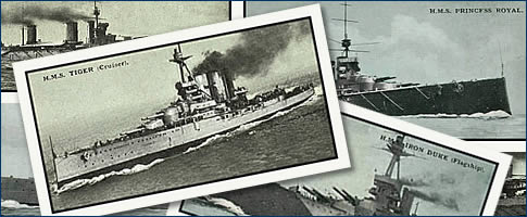 British Warships Cigarette Card Collection