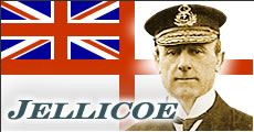 Admiral Sir John Jellicoe, Commander of the British Grand Fleet.